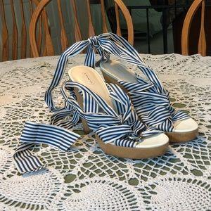 Coach Ankle wrap sandals